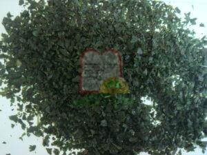 שבבים של כוסברה קפואה, גודל השבבים מאפשר לחרקים להישאר בשלימותם גם לאחר העיבוד