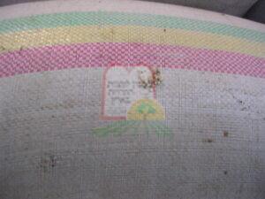 התגלמות חרקים על גבי שקים של חומרי גלם