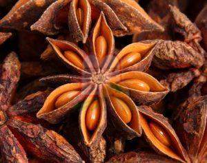 פרי אניס בצורת כוכב